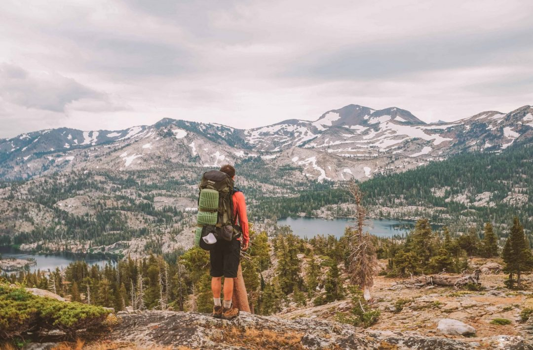 best place near lake tahoe - backpacking desolation wilderness