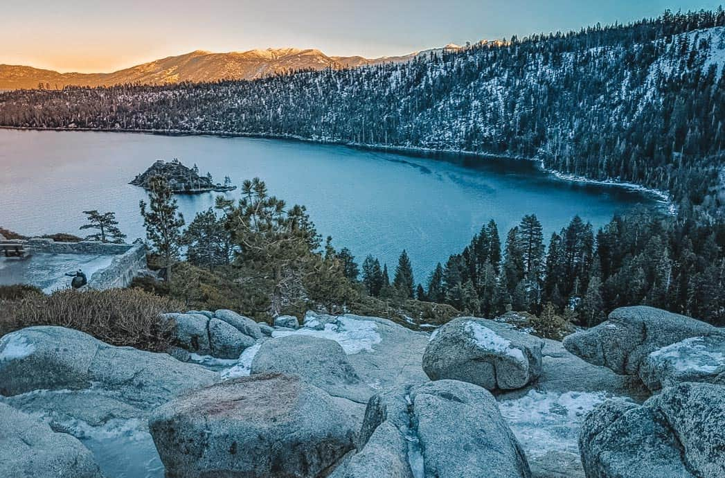What to do in Lake Tahoe in summer - hiking in lake tahoe in emerald bay state park