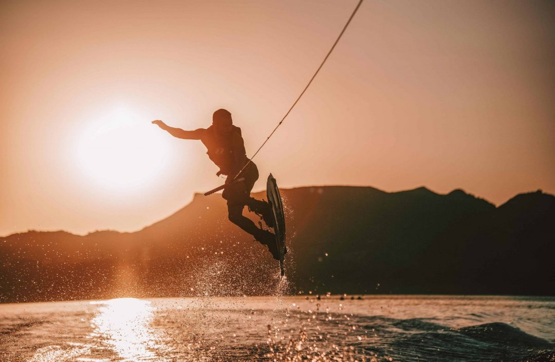 summer activities in lake tahoe - wakeboarding