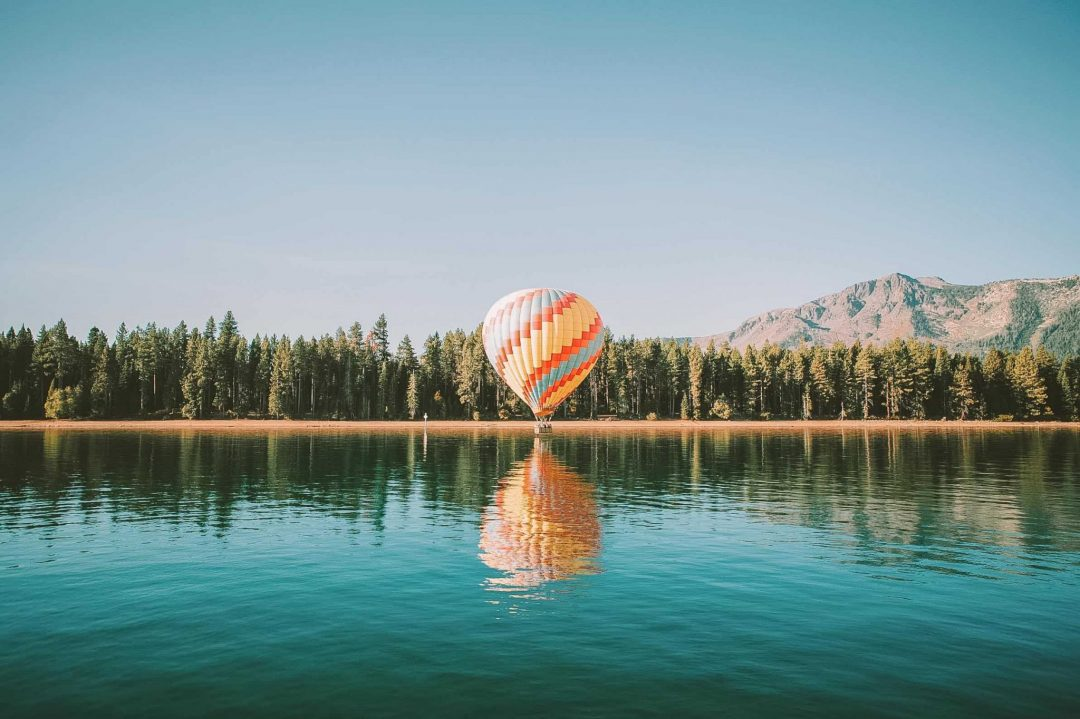 what to do in lake tahoe - hot air ballooning