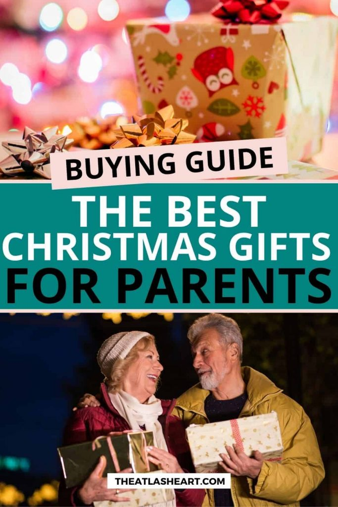 Best Christmas Gifts for Parents Pin