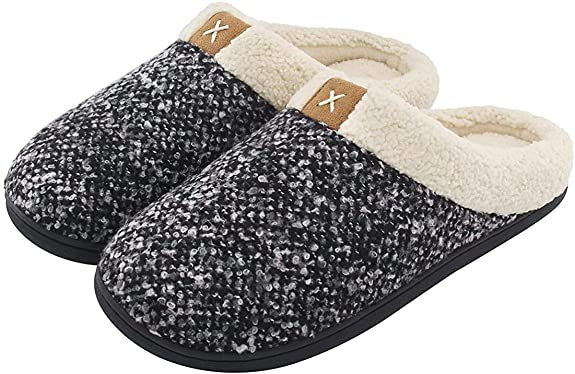 Cozy slippers for christmas