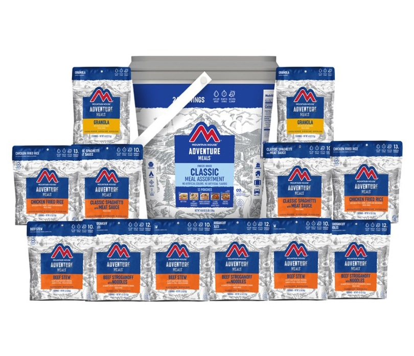 Mountain House Classic Meal Assortment Bucket