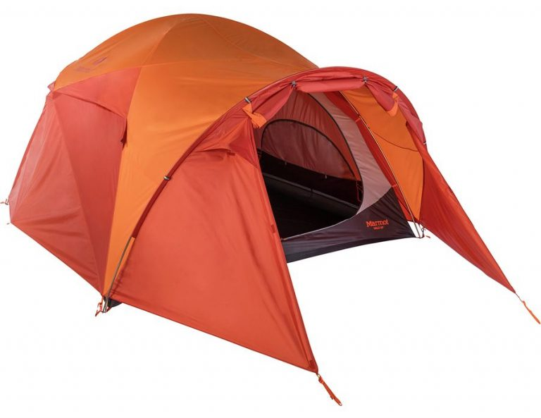 marmot halo tent - best lightweight 6 person tent