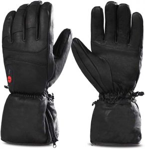 Best Heated Ski Gloves - savior heated snowboarding gloves