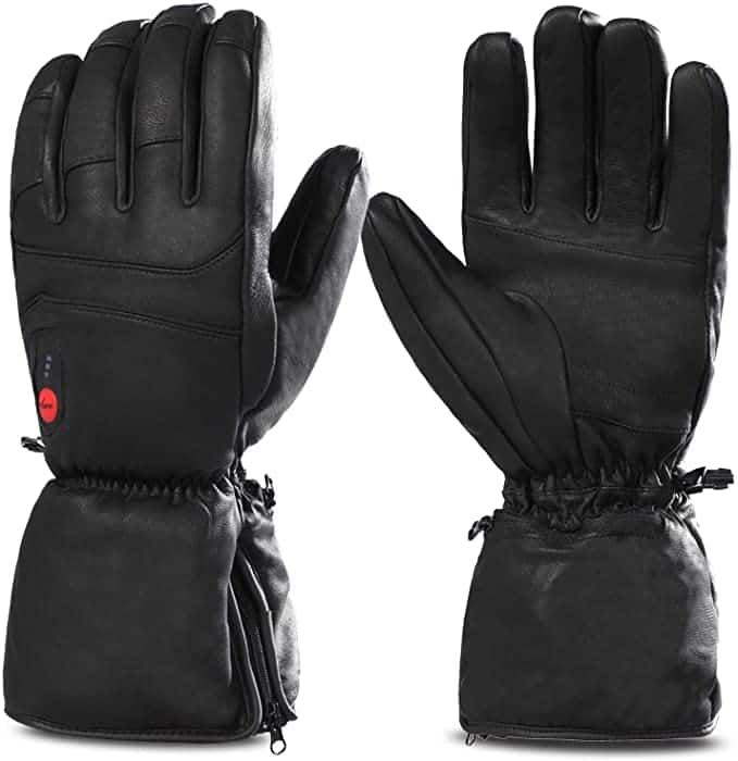 Best Heated Ski Gloves - savior heated snowboarding gloves