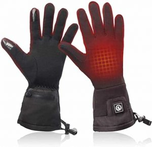 Best thin heated gloves - Snow Deer Heated Glove Liners