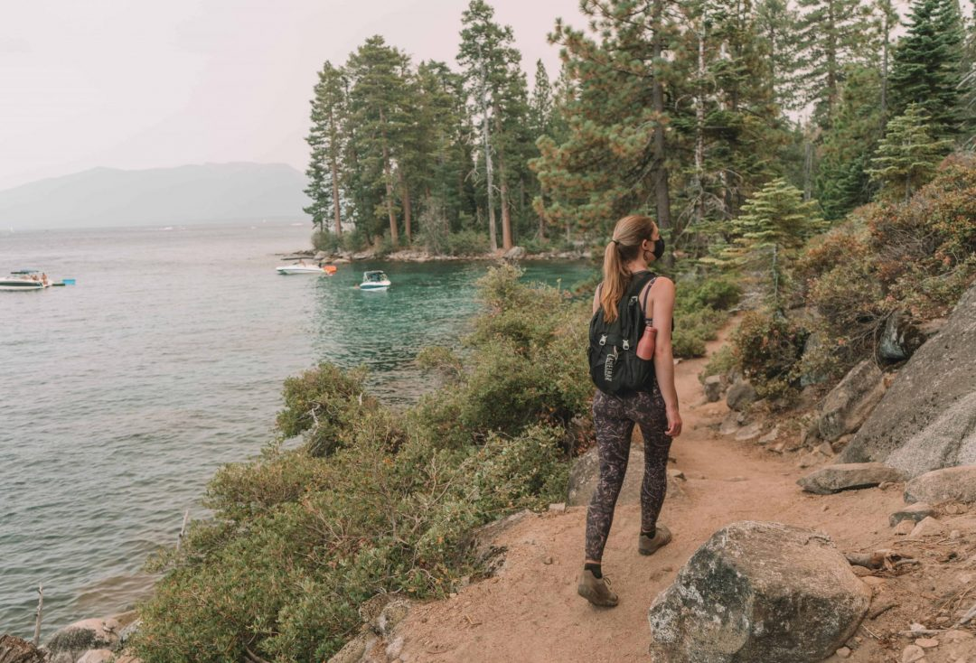 adventurous date ideas - hiking in lake tahoe