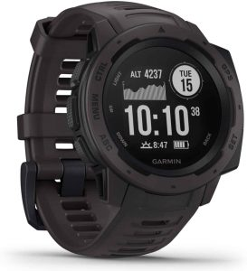 best gps watch for hiking - garmin instinct