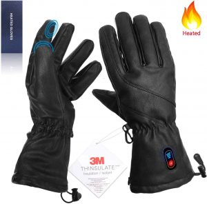 best heated cycling gloves - Kamlif Heated Gloves