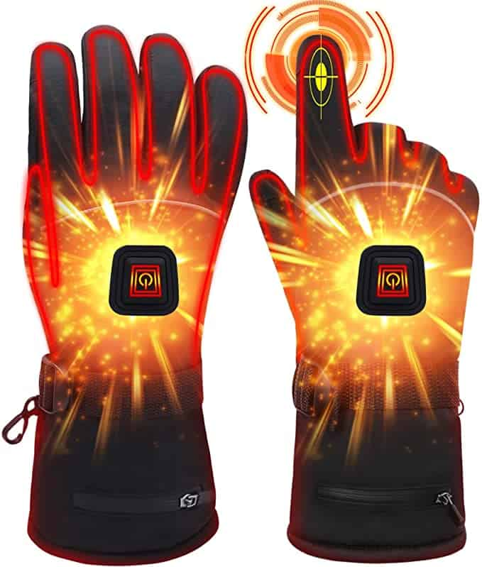 best heated gloves for extreme cold - Rabbitroom Winter Electric Heated Gloves