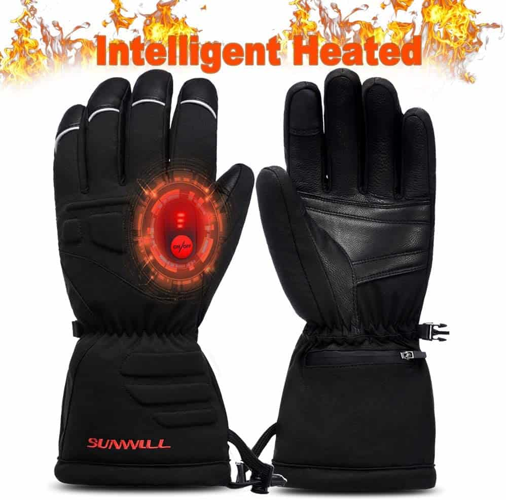 best heated gloves under 100 - Sun Will Heated Gloves