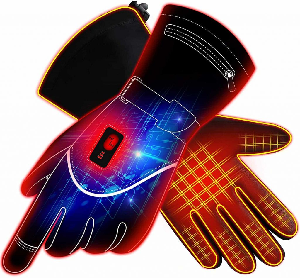 best heated hiking gloves - Global Vasion Heated Gloves