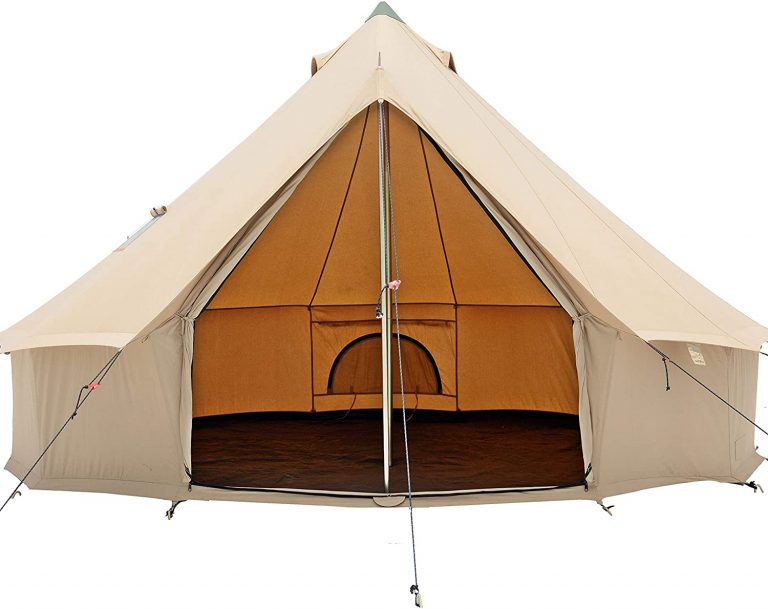 best large glamping tent - whiteduck regatta canvas bell tent