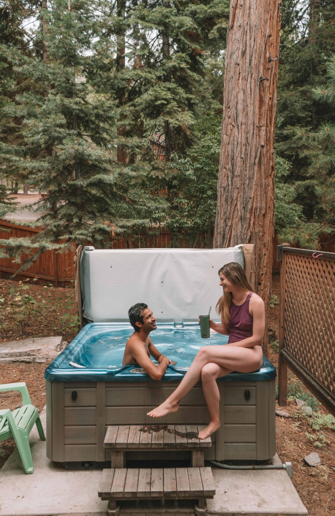 romantic things to do in the bay area - hot tubbing