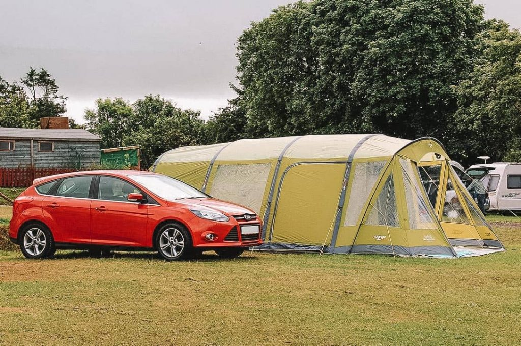 types of large camping tents
