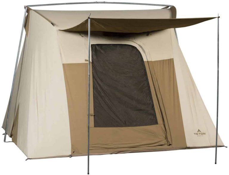 6 person canvas tent - teton sports mesa