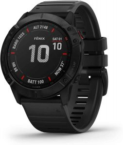 Garmin Fenix 6x Pro Multisport GPS - best ski watch