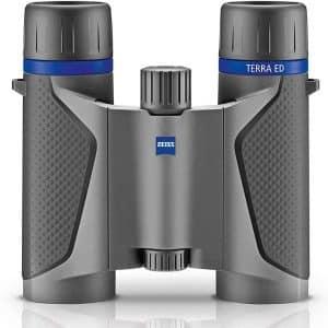 Zeiss 8x25 Terra ED Compact Pocket Grey-Black Binocular - best binoculars overall