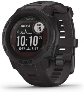 best gps watch for hiking - garmin instinct solar
