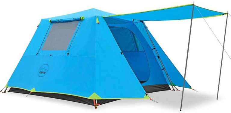 waterproof tent for 6 people - kazoo family camping tent