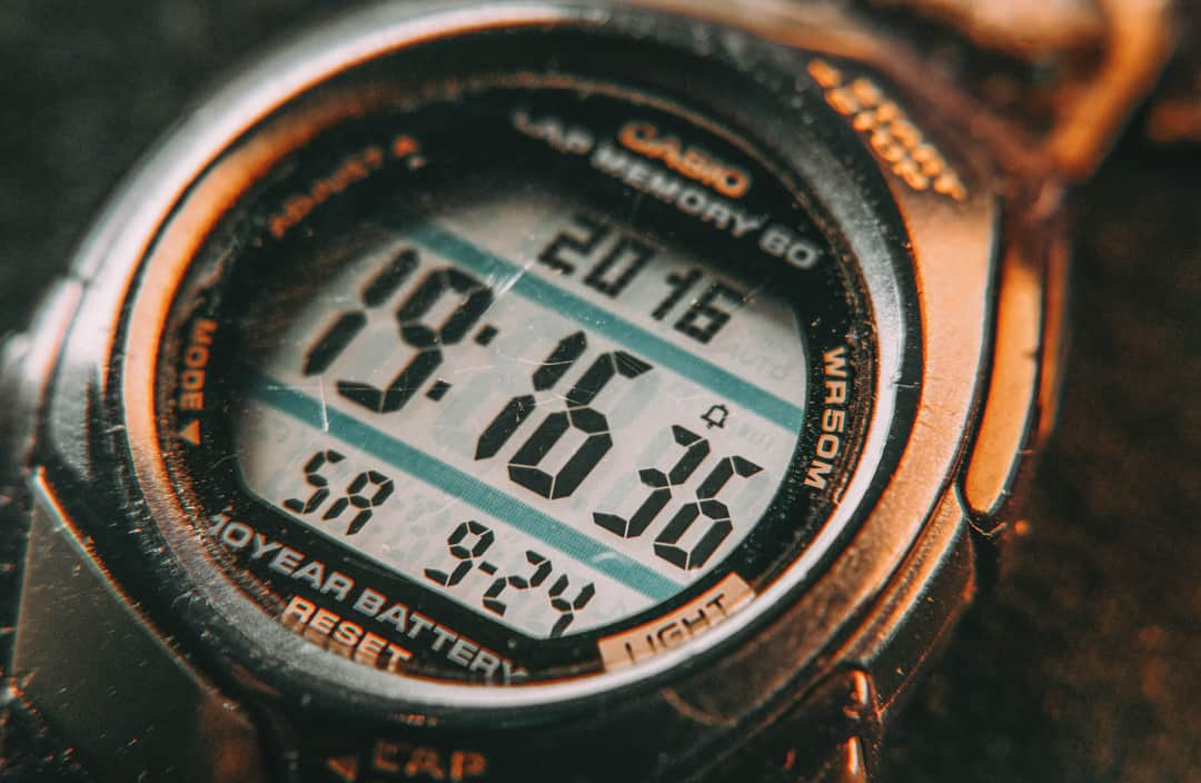 what to look for in outdoor watches, display size