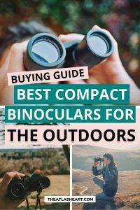 Best Compact Binoculars Pin