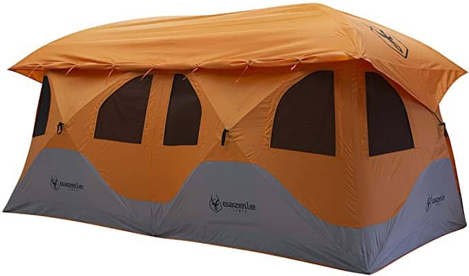 Gazelle T8 - pop up tent for 8 people