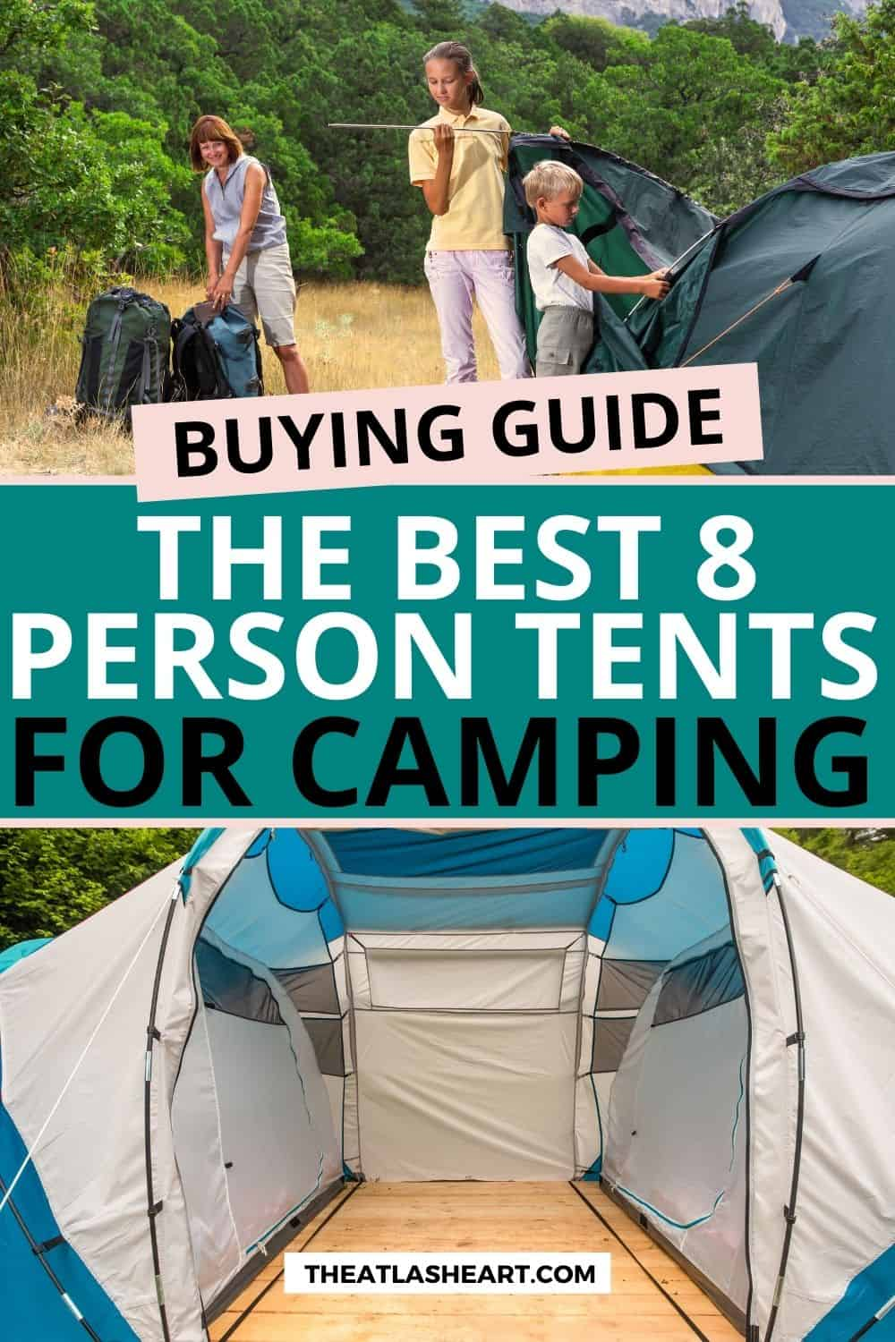 Best 8 Person Tent for Family-Style Camping (2021 Buying Guide)