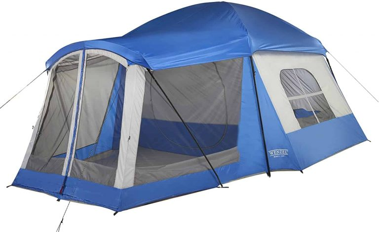 camping tent with screened room - wenzel 8 person klondike tent