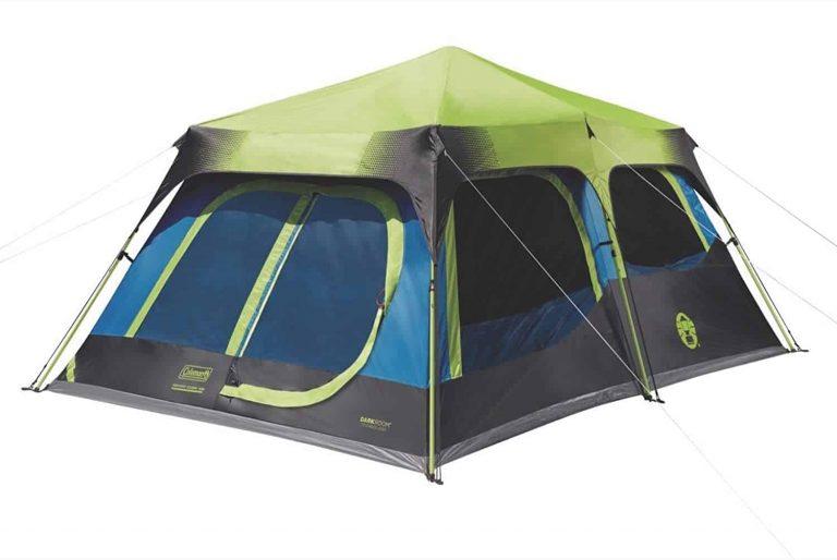coleman tent - blackout tent
