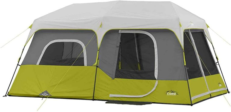 core 9 instant cabin tent - best car camping tent