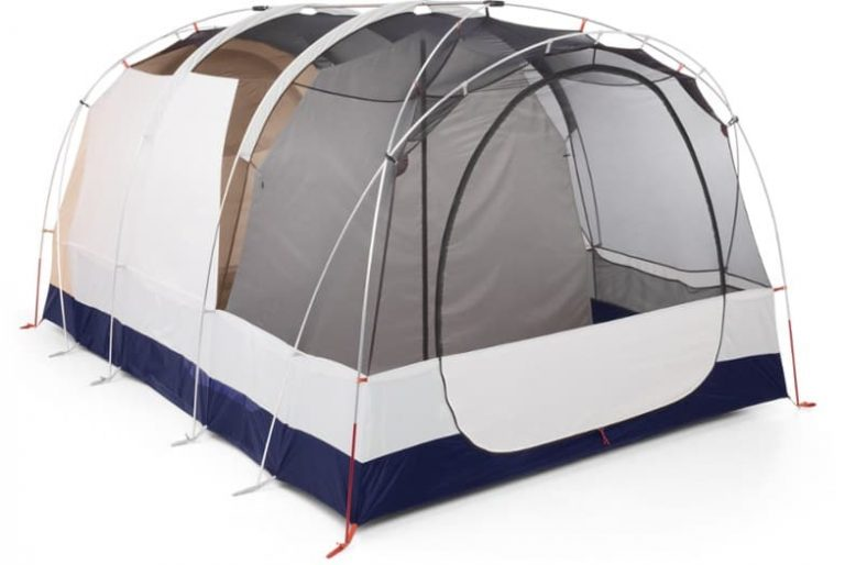 family camping tent - rei co op kingdom 8