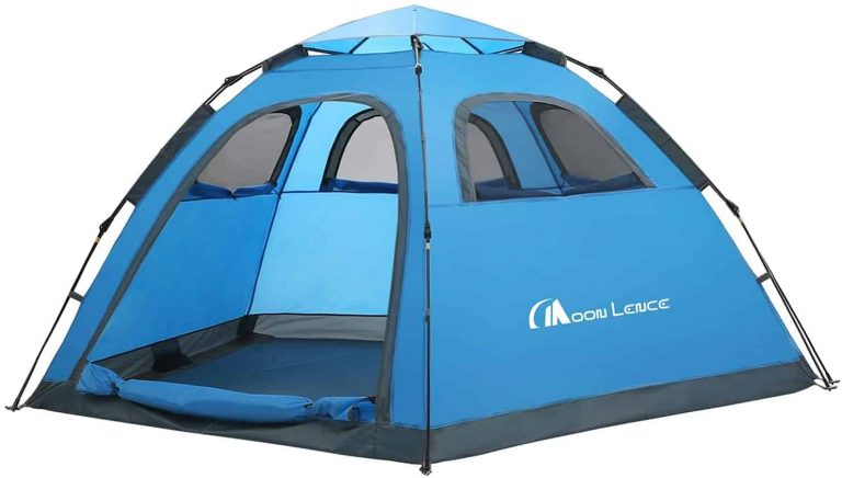 moon lence instant tent for backyard camping with kids