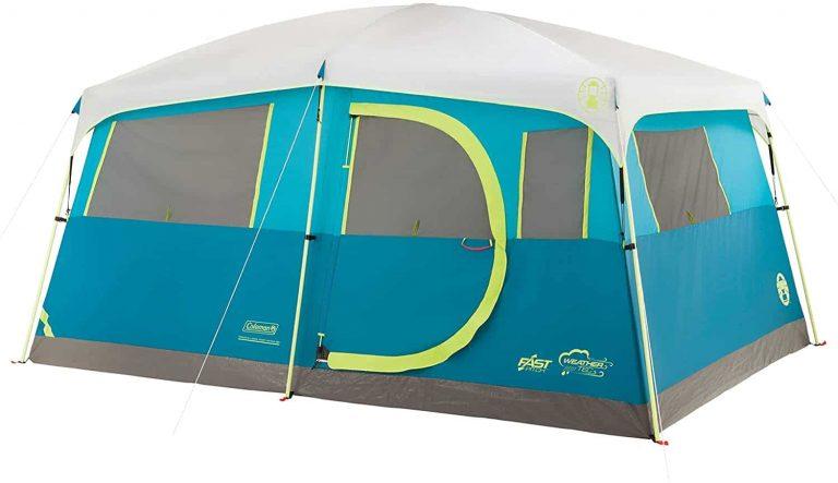 multiroom tent - coleman tenaya lake