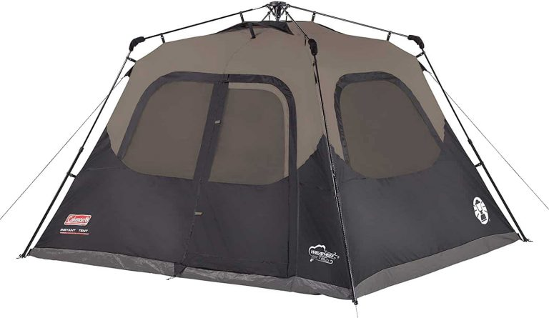 pop up tent for camping - coleman instant cabin tent