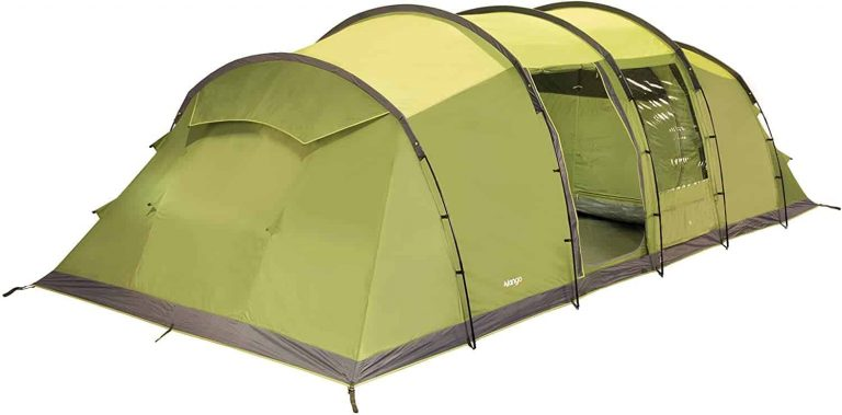tent for windy conditions - vango odyssey family tunnel tent