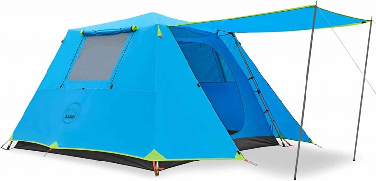 waterproof pop up tent - kazoo family camping tent
