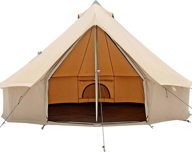 whiteduck regatta canvas bell tent - luxury camping tent