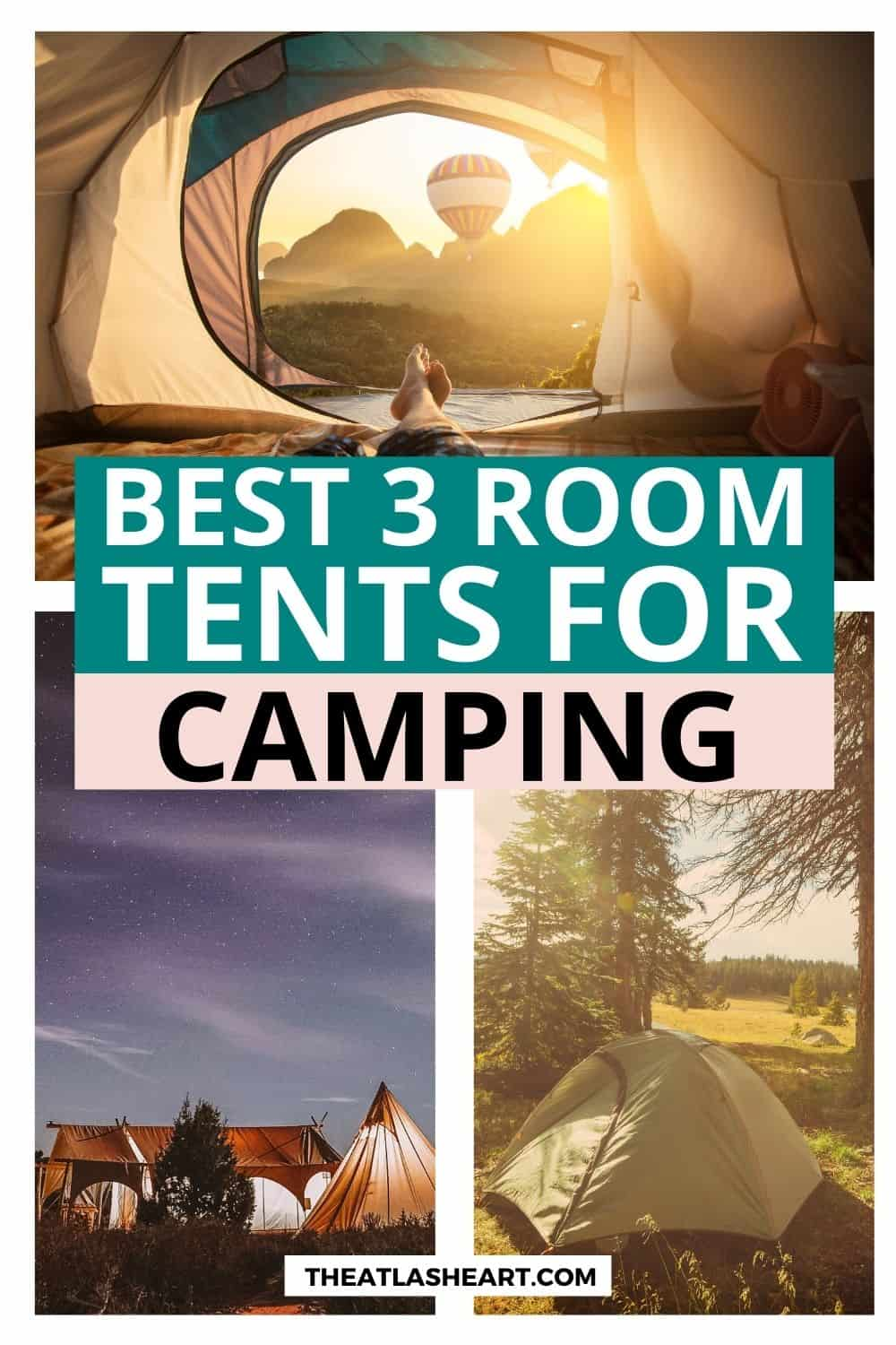 Best 3 Room Tent for Camping With More Space (2021 Buying Guide)