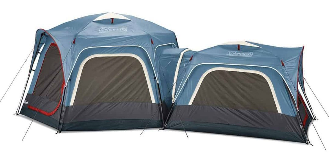coleman connectable tent connectable tent