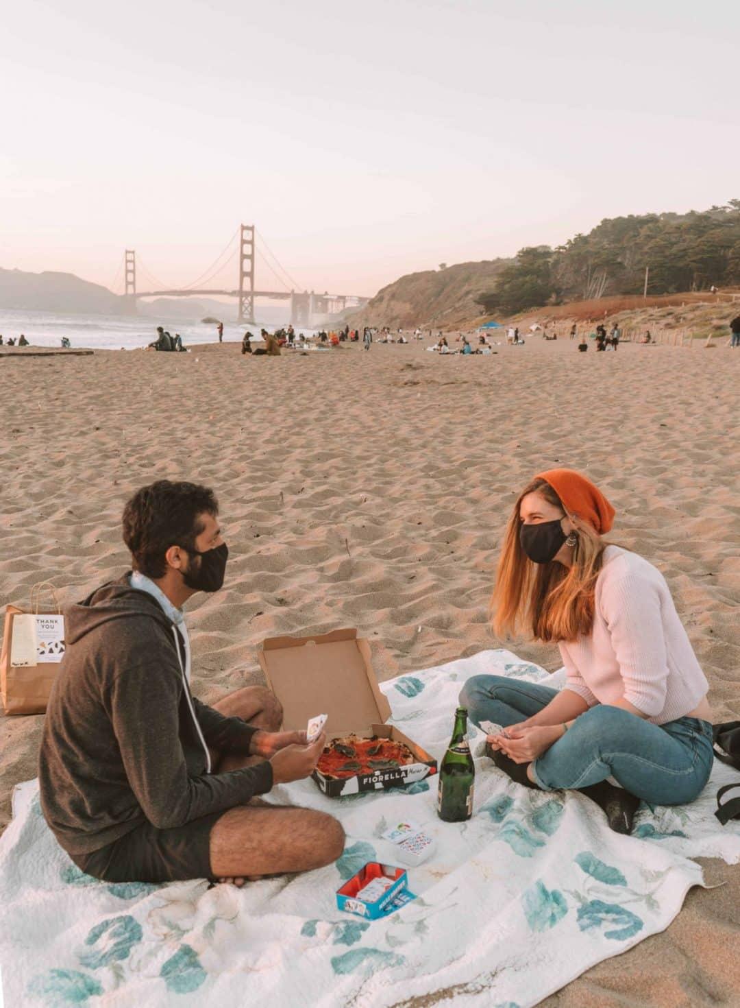 Baker Beach picnic