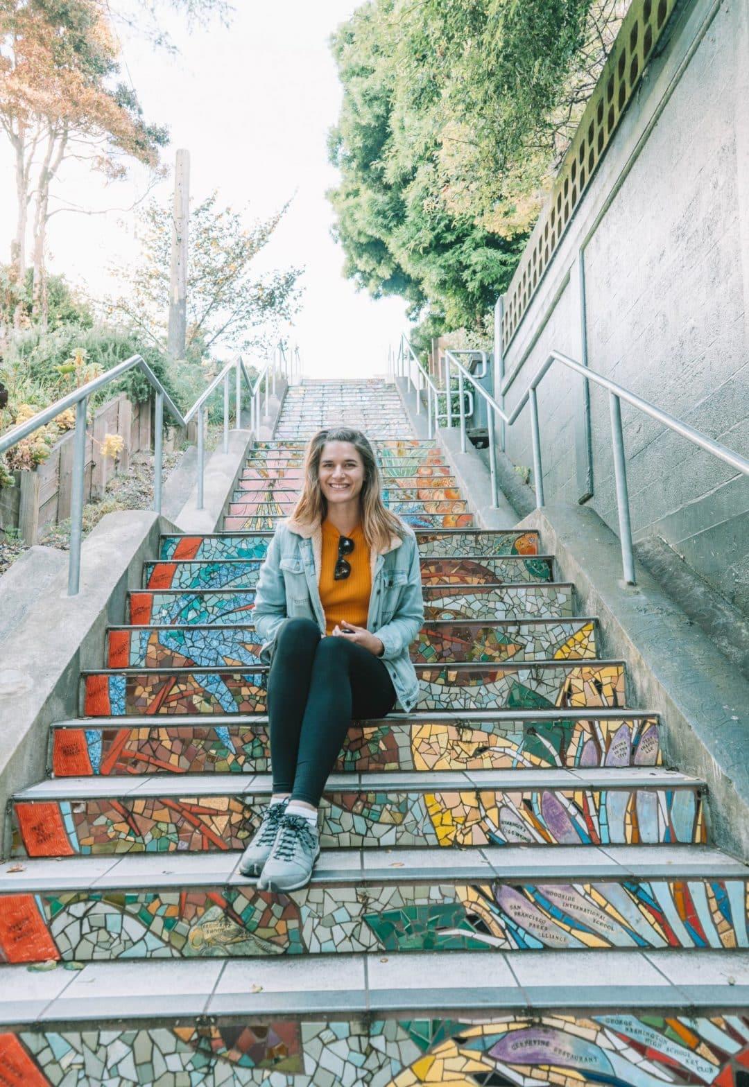 Hidden stairways in San Francisco