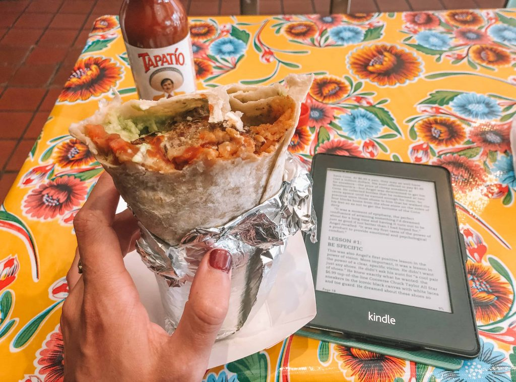 Mexican food in California - Mission-Style Burritos