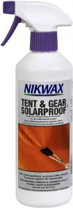 Nikwax Tent and Gear Solarproof Waterproofing Spray
