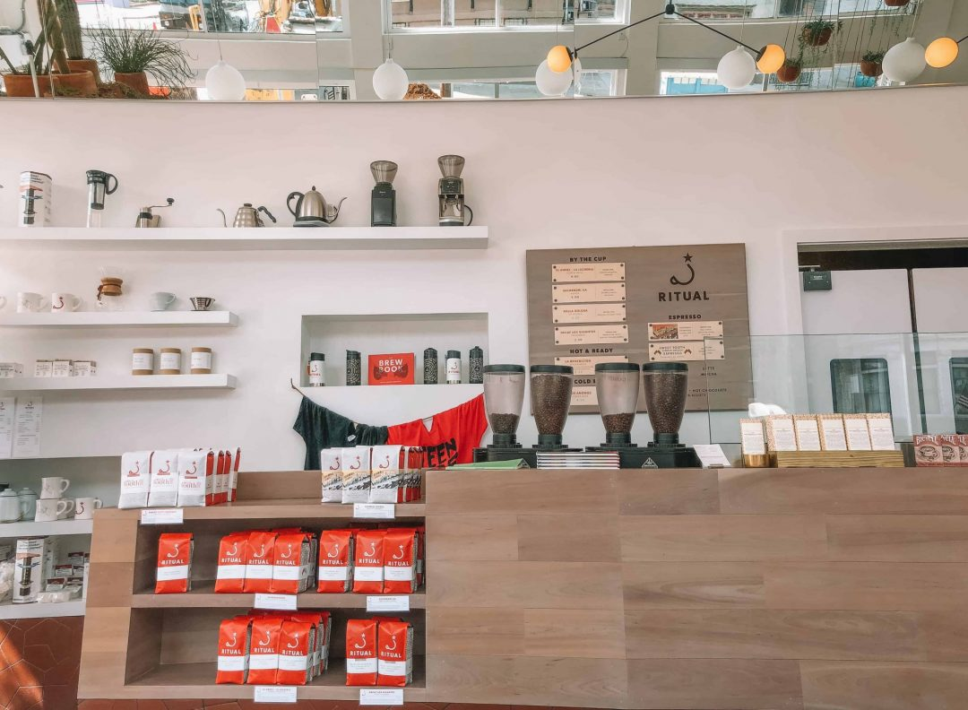 San Francisco coffee shops, ritual coffee