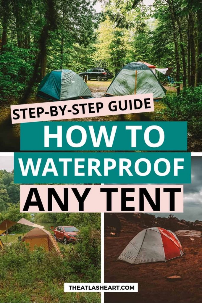 best way to waterproof a tent pin
