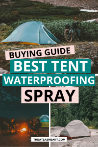 tent waterproofing spray pin