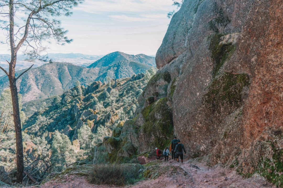 how to get to pinnacles national park in california
