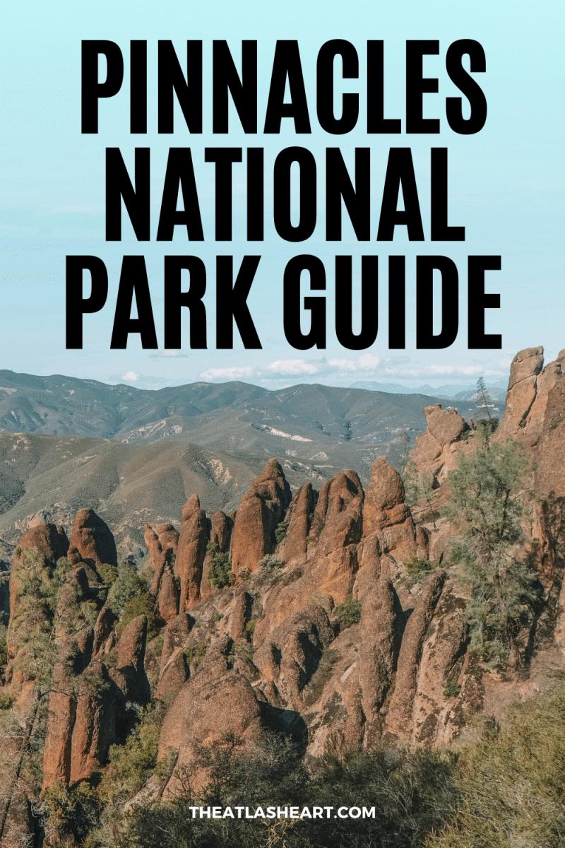 Pinnacles National Park Guide Pin 1